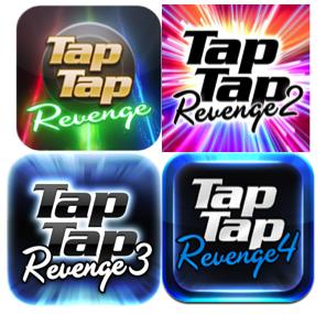 tap tap revenge series icons