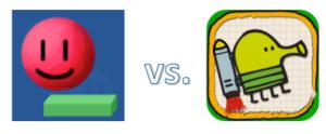 papijump vs. doodle jump