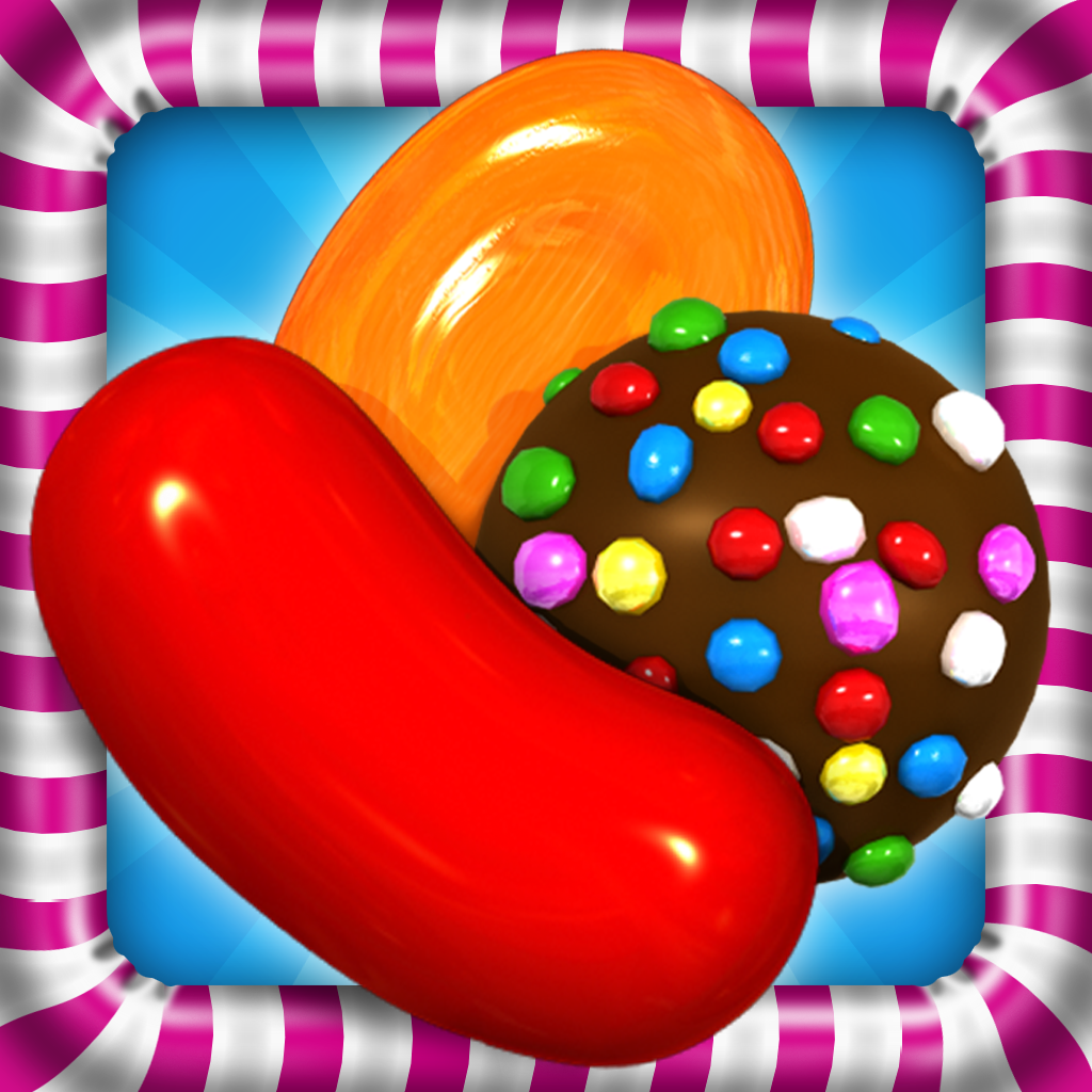 candy crush saga seems to be the latest craze when it comes to apps
